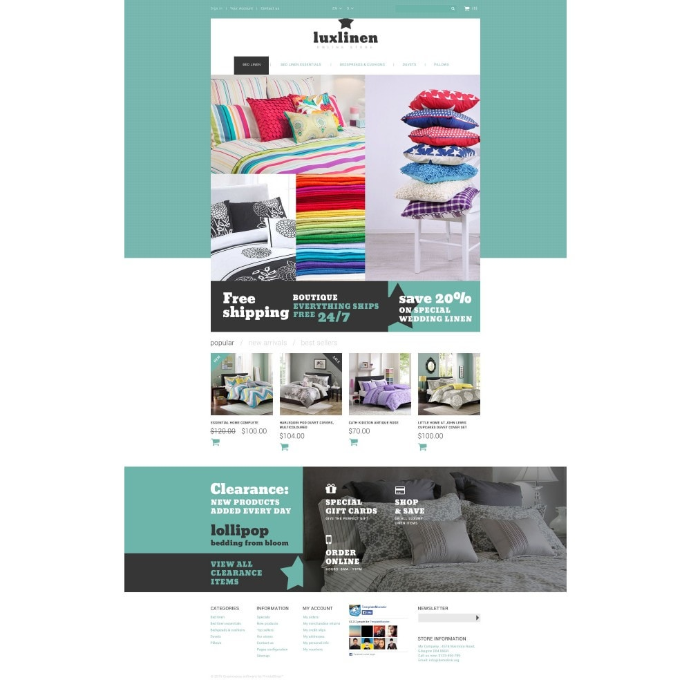 theme - Arte y Cultura - Luxury Linen Store - 4