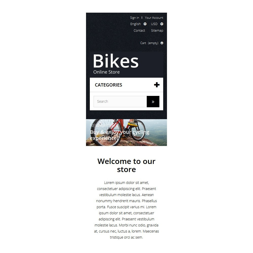 theme - Deportes, Actividades y Viajes - Bike Store - 9