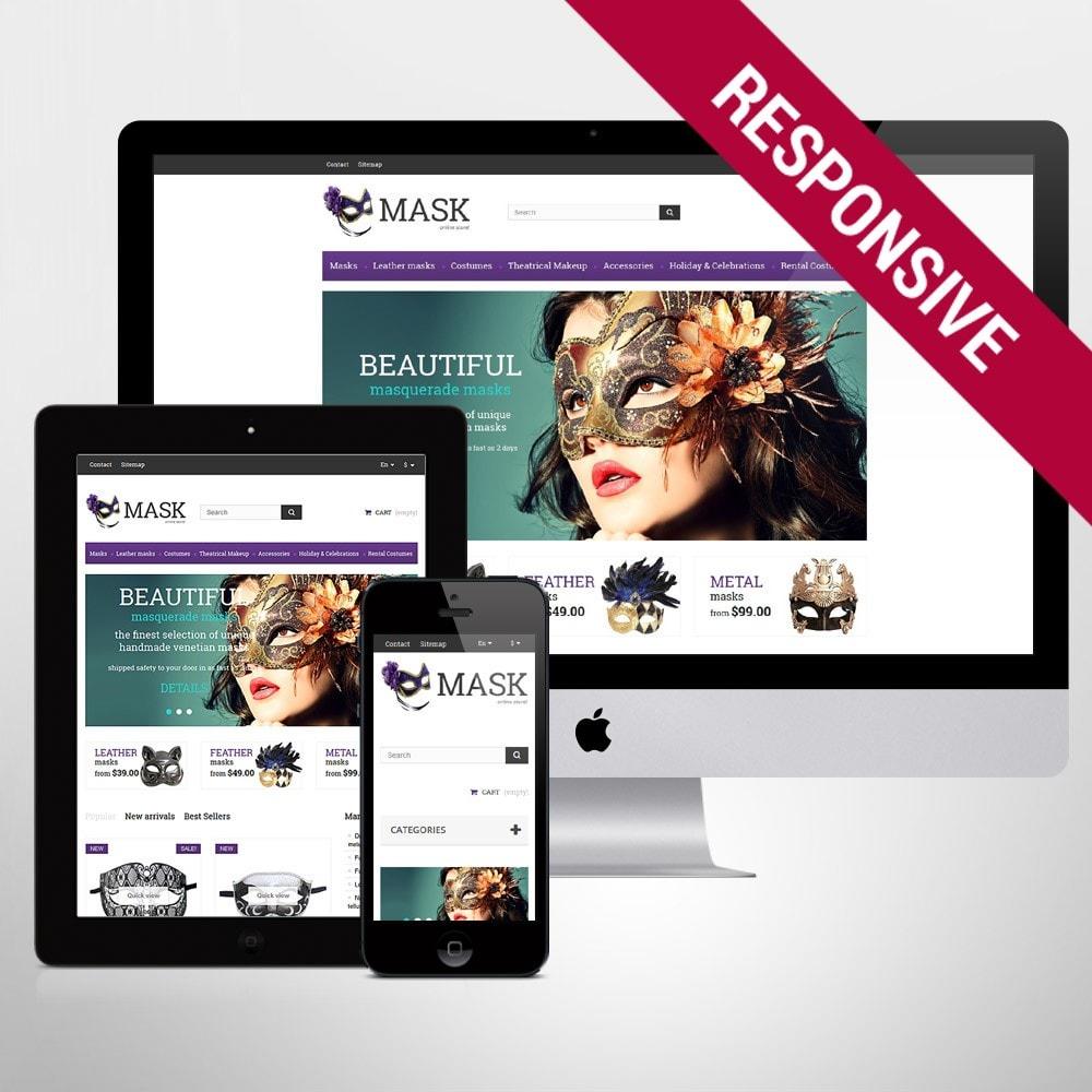 theme - Presentes, Flores & Comemorações - Masquerade Masks - 1