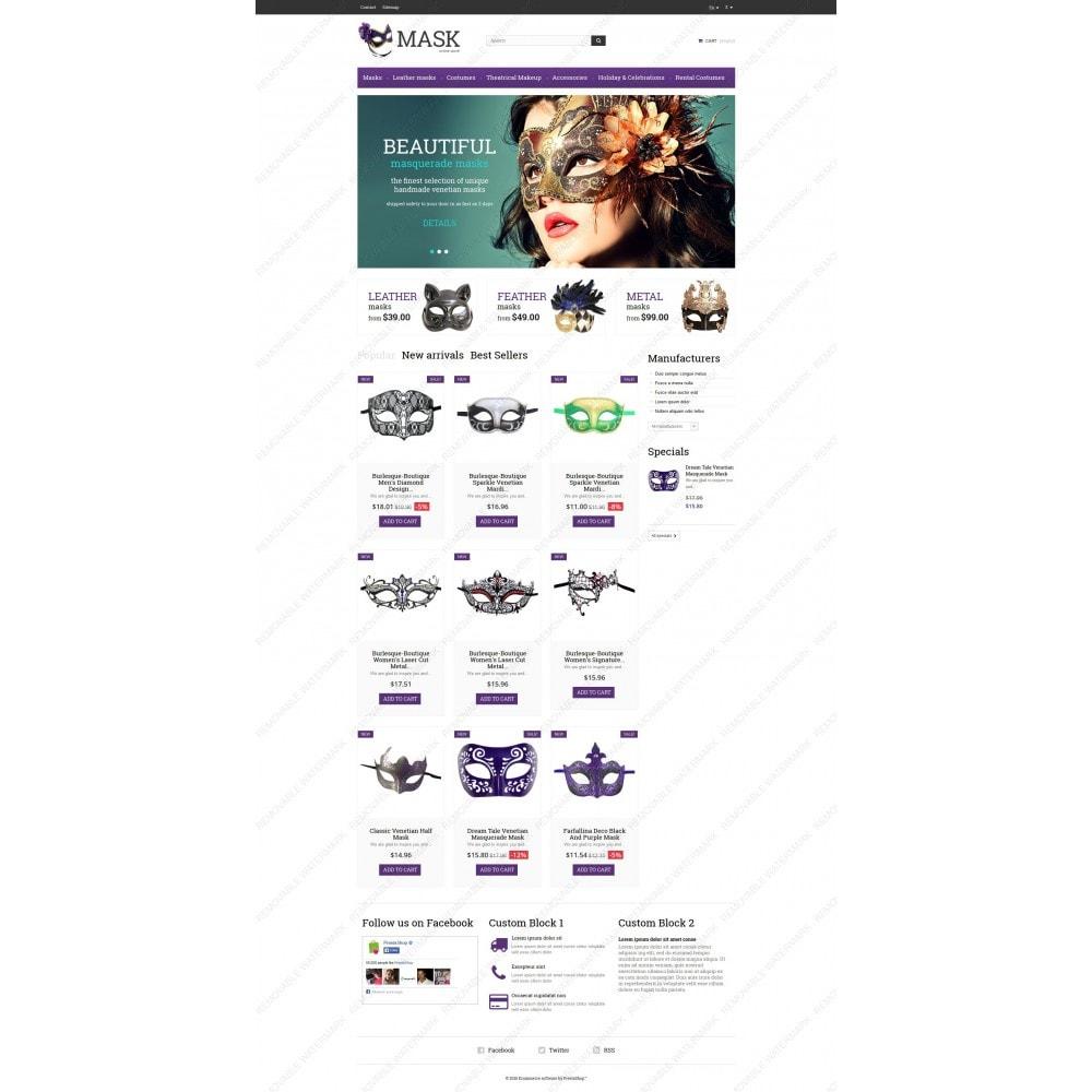 theme - Presentes, Flores & Comemorações - Masquerade Masks - 3