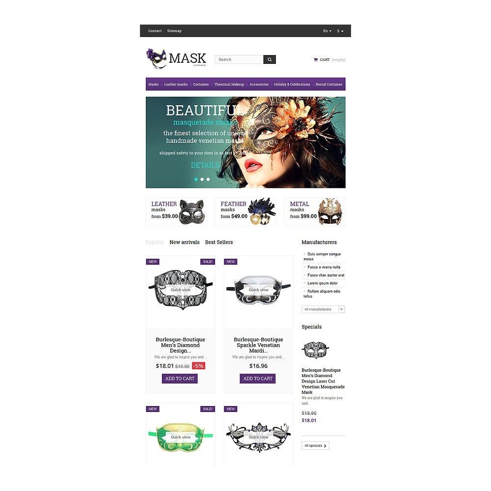 theme - Cadeaus, Bloemen & Gelegenheden - Masquerade Masks - 7