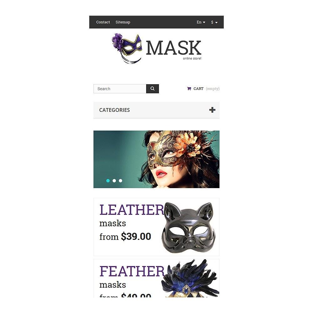 theme - Presentes, Flores & Comemorações - Masquerade Masks - 8