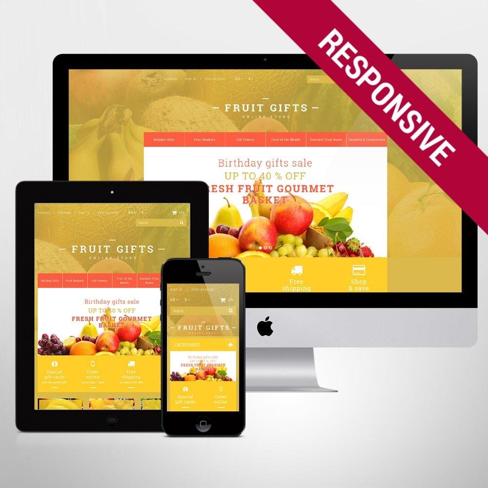 theme - Cadeaux, Fleurs et Fêtes - Fresh Fruit Gift Basket - 1