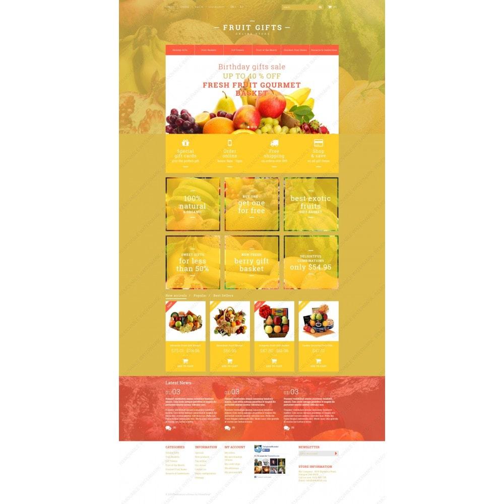 theme - Cadeaux, Fleurs et Fêtes - Fresh Fruit Gift Basket - 3