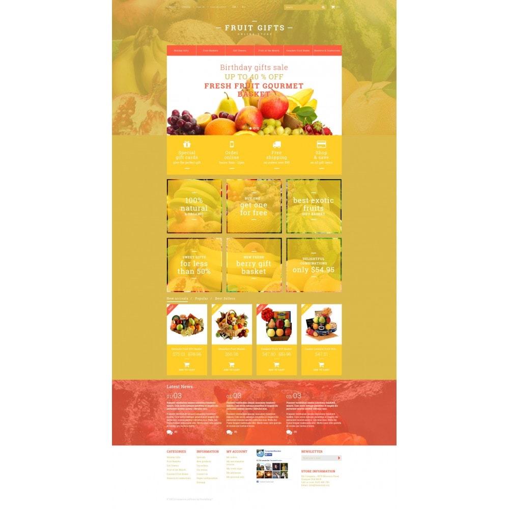 theme - Geschenke, Blumen & Feiern - Geschenkkorb-mit-frischem-Obst - 4
