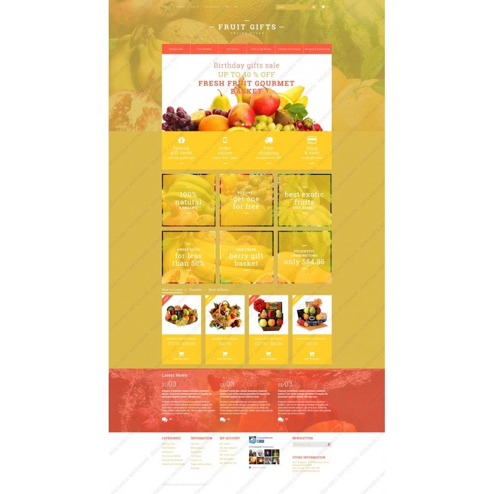 theme - Cadeaux, Fleurs et Fêtes - Fresh Fruit Gift Basket - 5