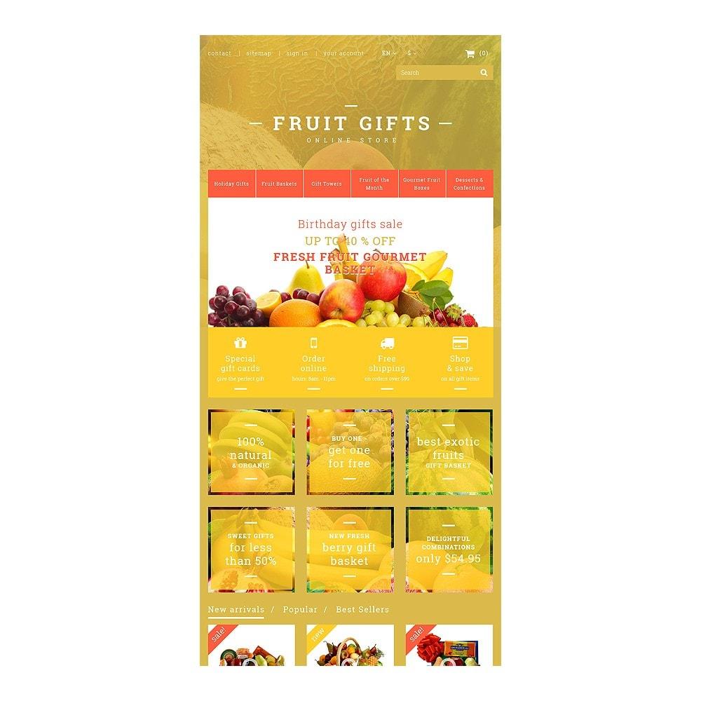 theme - Cadeaux, Fleurs et Fêtes - Fresh Fruit Gift Basket - 7