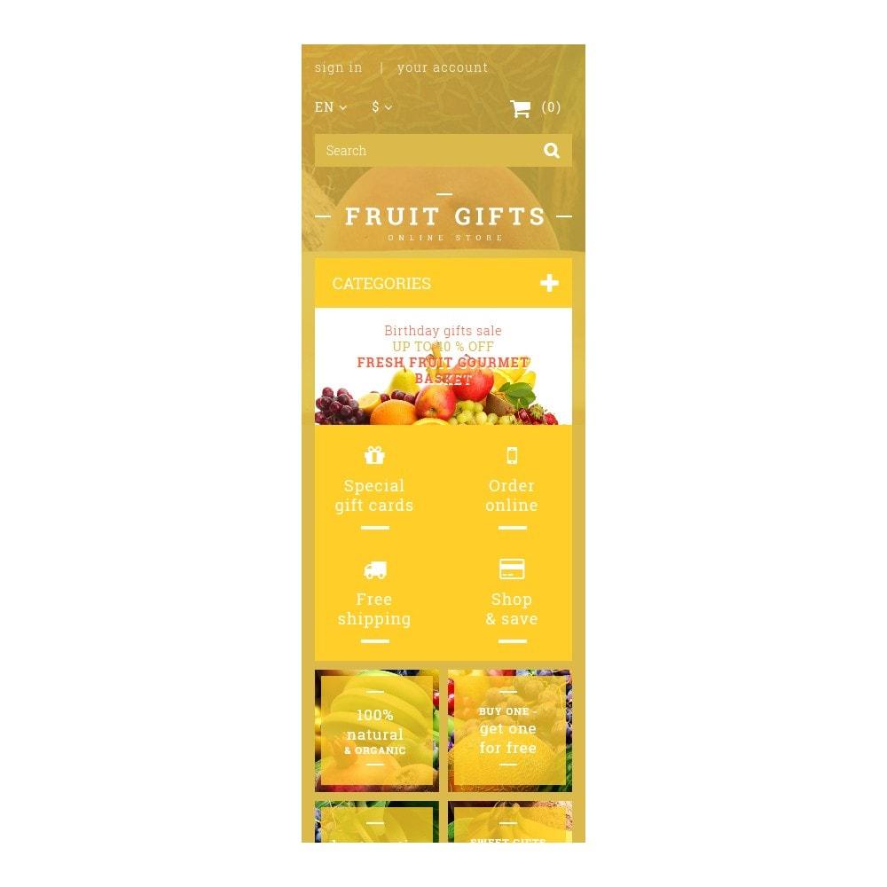 theme - Cadeaux, Fleurs et Fêtes - Fresh Fruit Gift Basket - 9