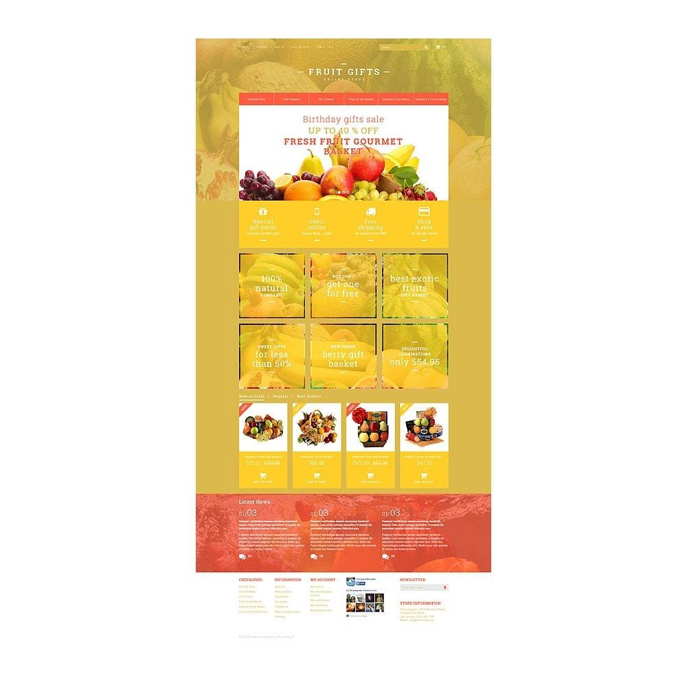 theme - Cadeaux, Fleurs et Fêtes - Fresh Fruit Gift Basket - 10