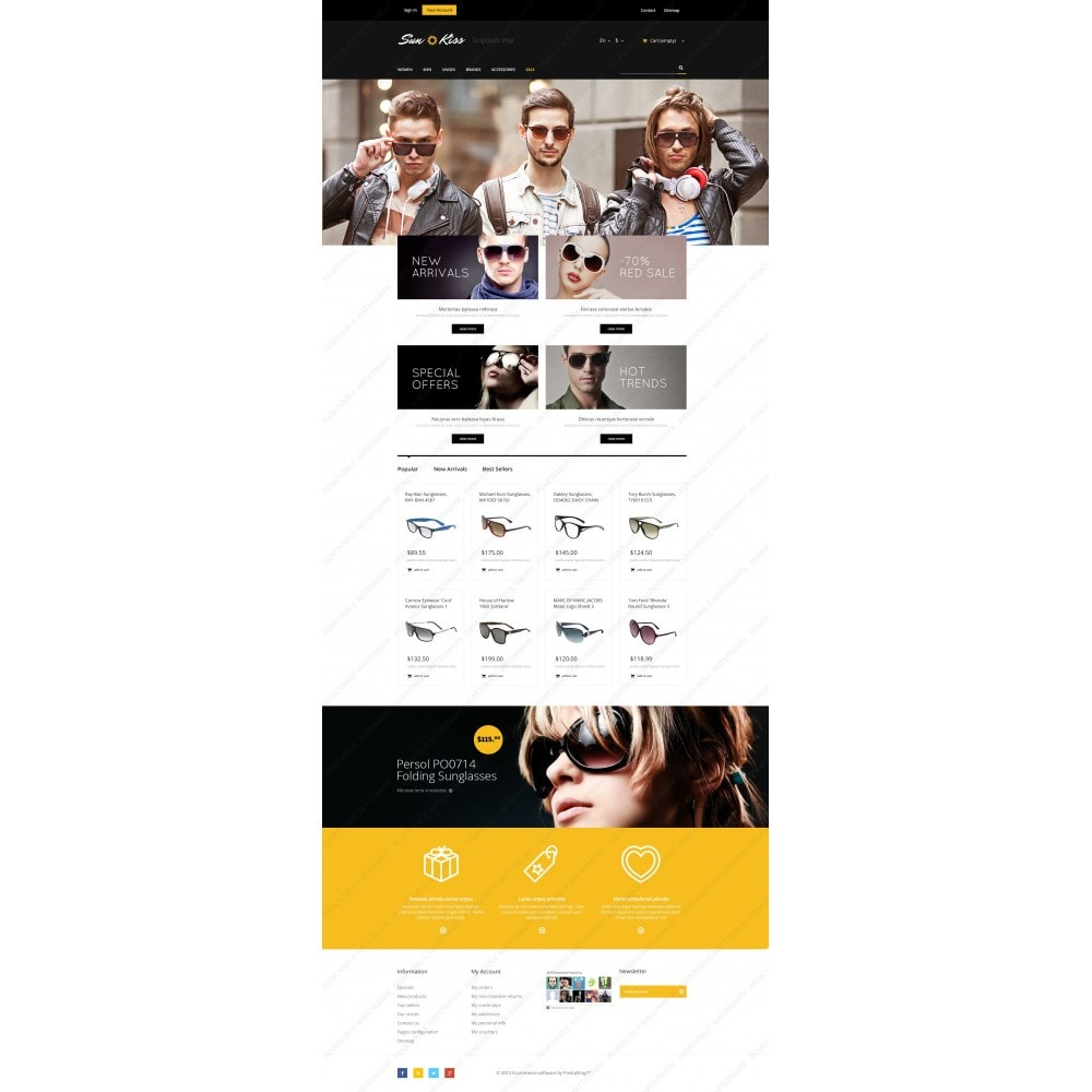 theme - Moda & Obuwie - Exclusive Sunglasses - 3