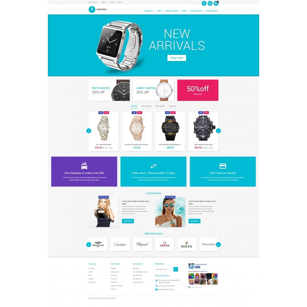 theme - Fashion & Shoes - Watches Store - 4