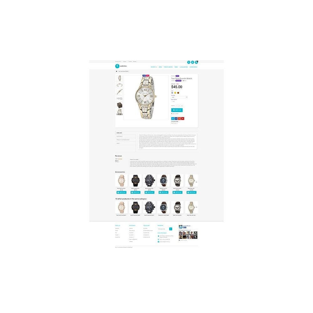 theme - Fashion & Shoes - Watches Store - 6
