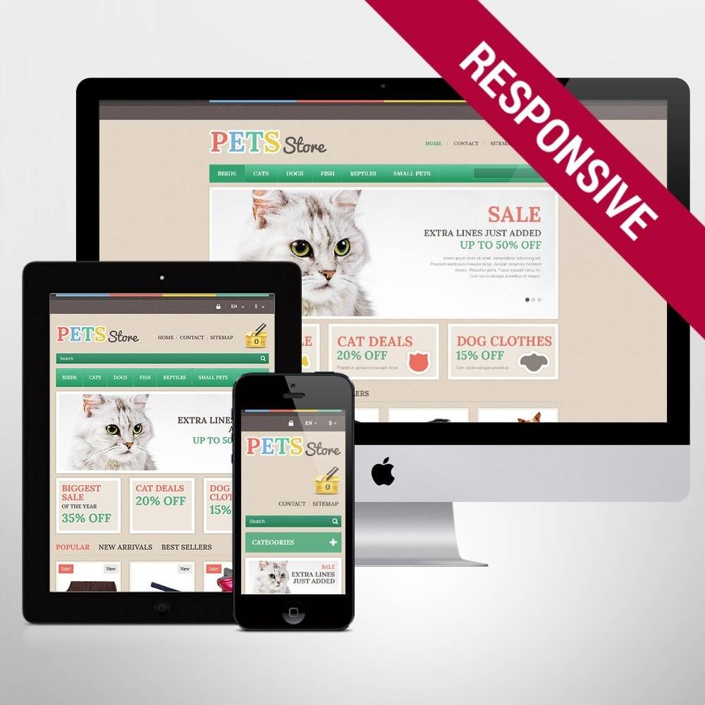 theme - Animaux - Pets Store - 1