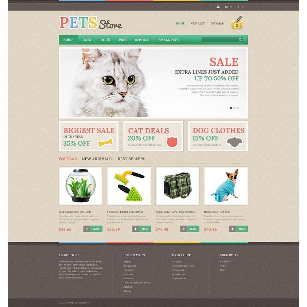 theme - Животные и домашние питомцы - Pets Store - 2