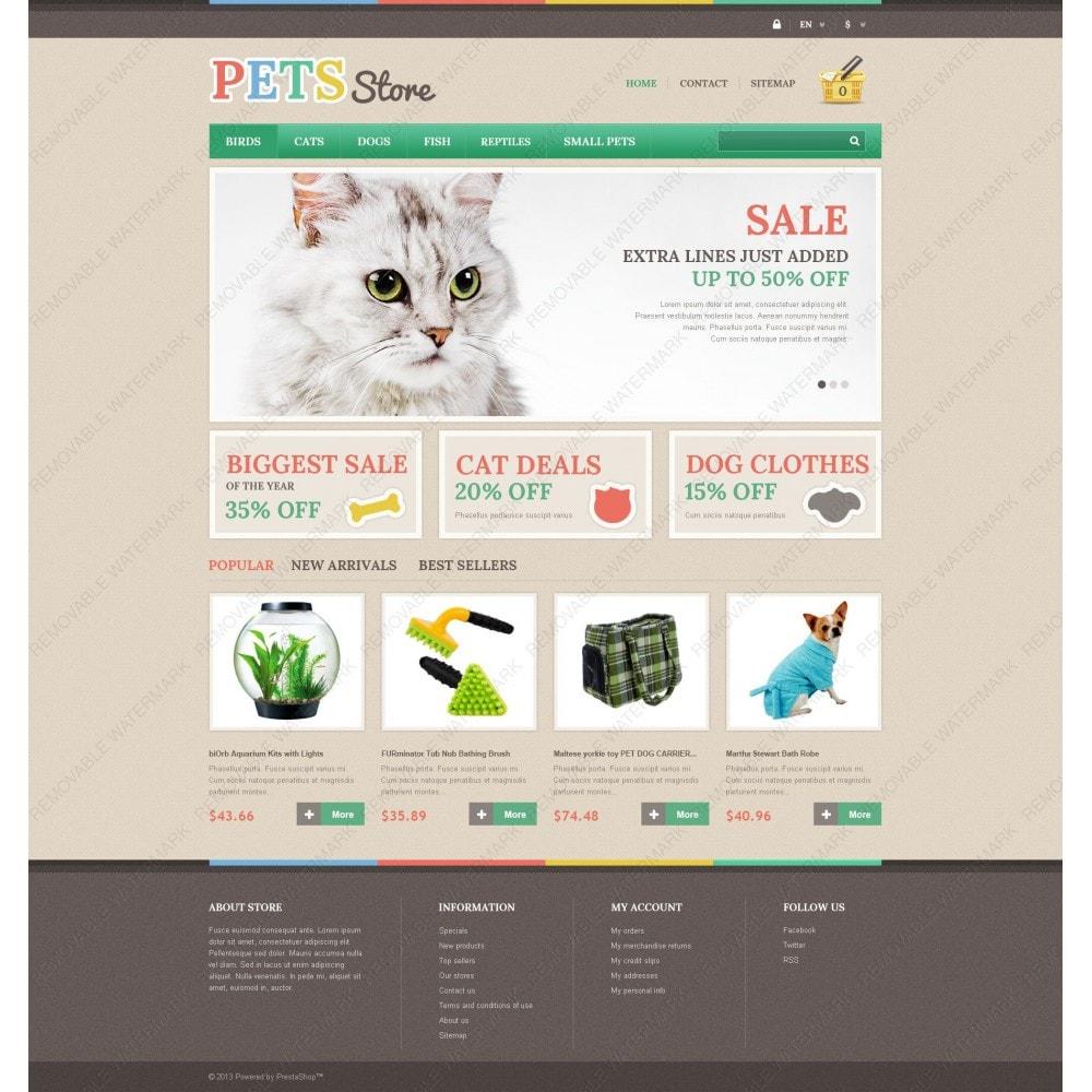 theme - Animales y Mascotas - Pets Store - 3
