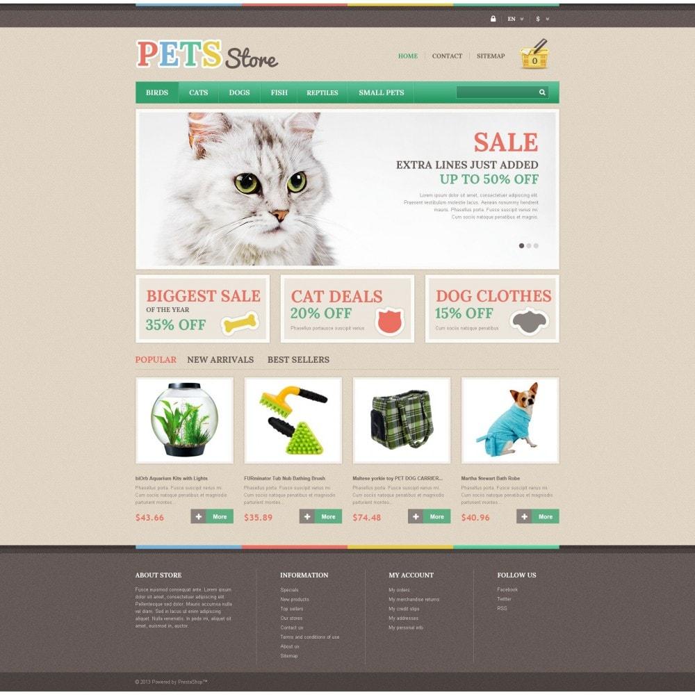 theme - Животные и домашние питомцы - Pets Store - 4
