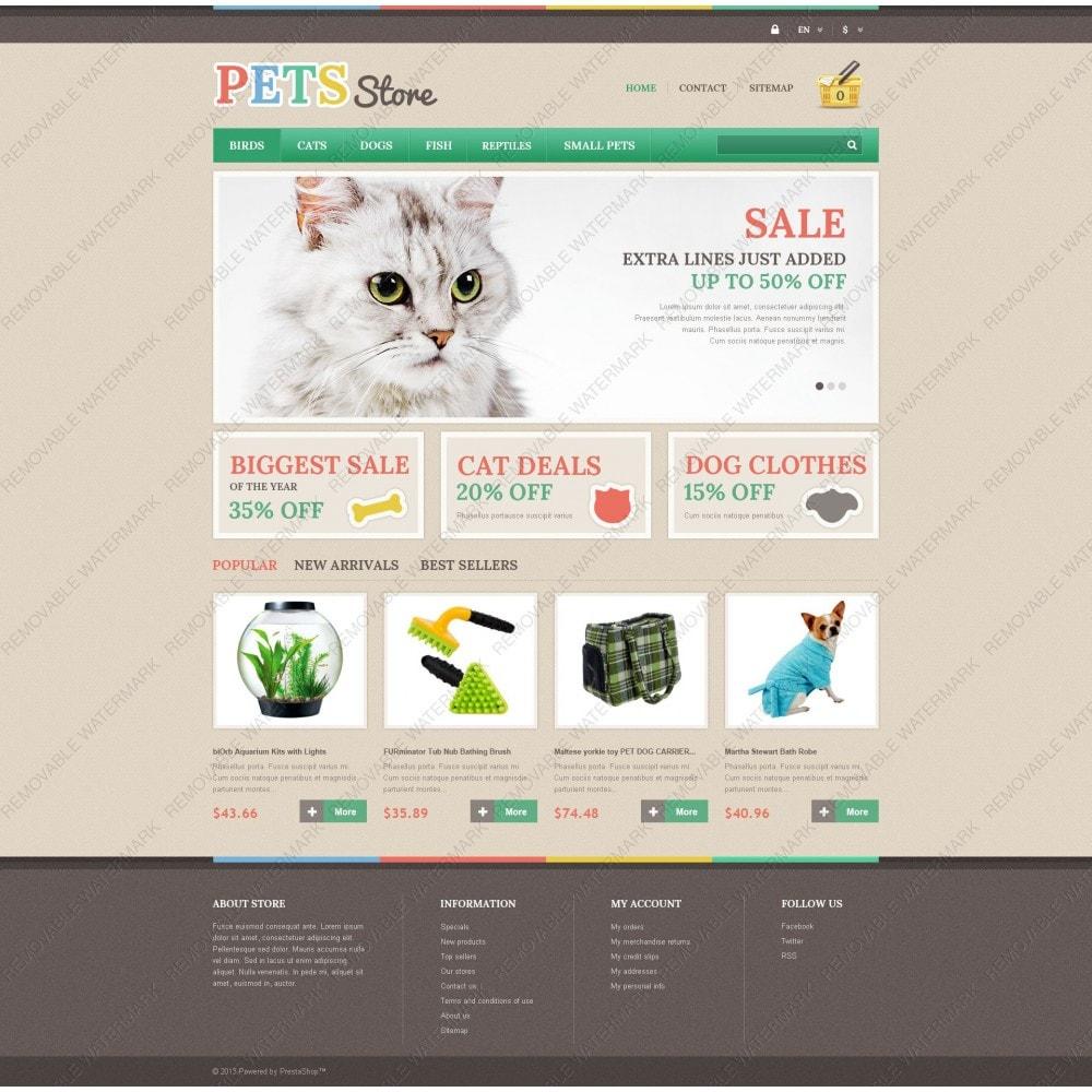 theme - Животные и домашние питомцы - Pets Store - 5