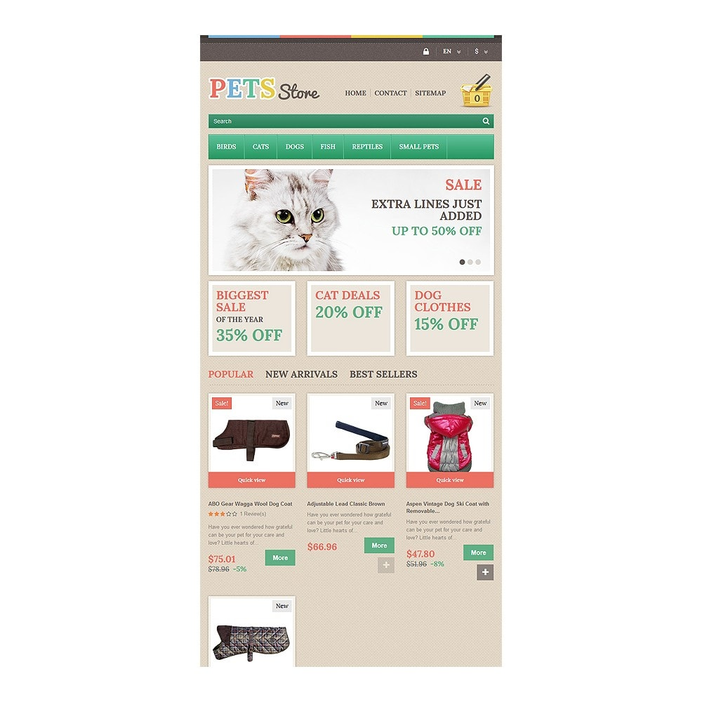 theme - Animaux - Pets Store - 7