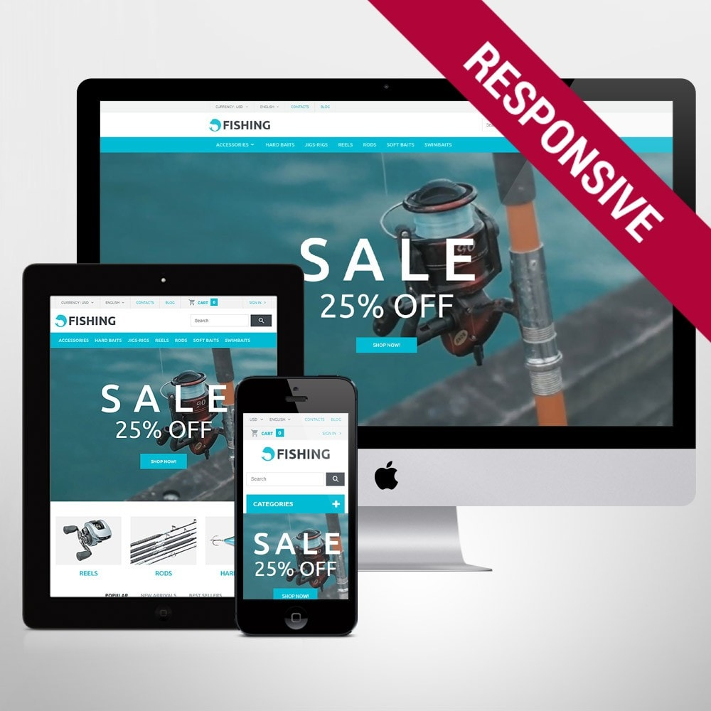 theme - Sport, Aktivitäten & Reise - Fishing Store - 1