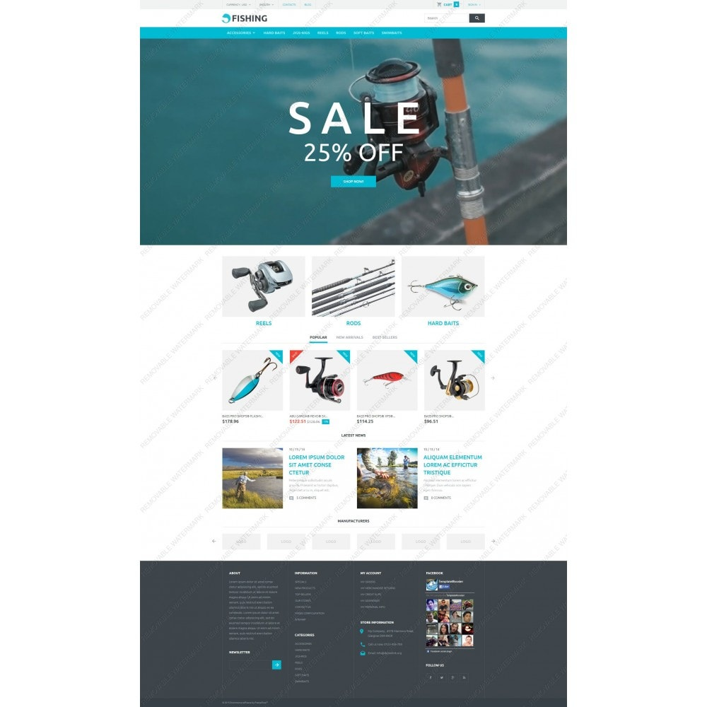 theme - Sport, Aktivitäten & Reise - Fishing Store - 5