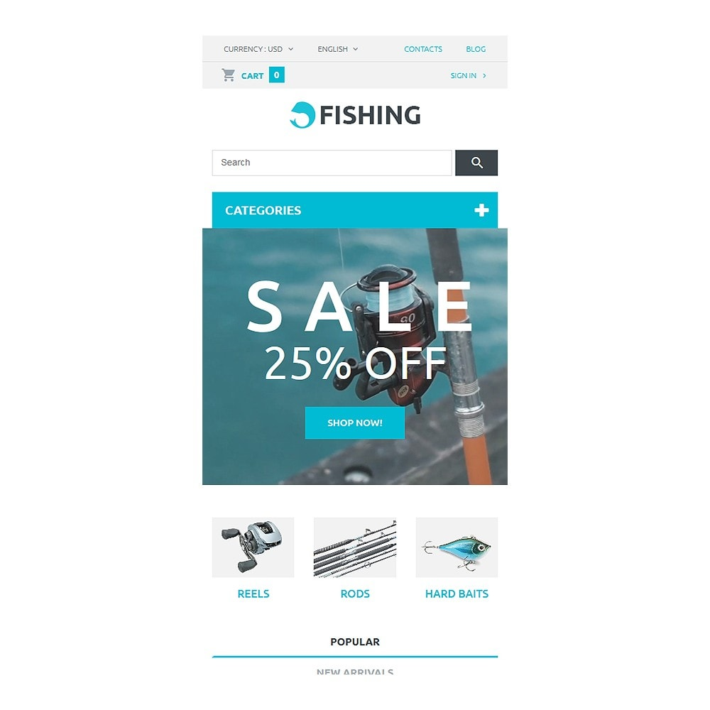 theme - Sport, Aktivitäten & Reise - Fishing Store - 8