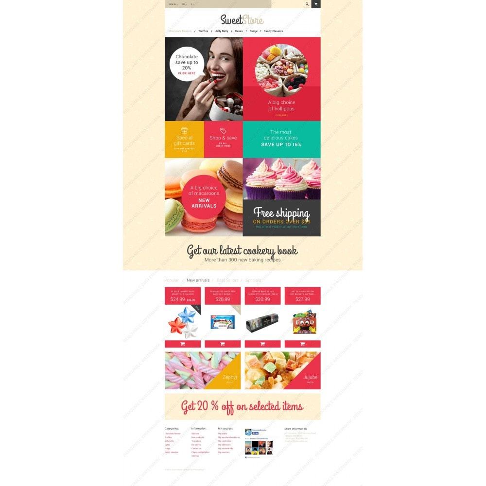 theme - Alimentation & Restauration - Sweetie - 3