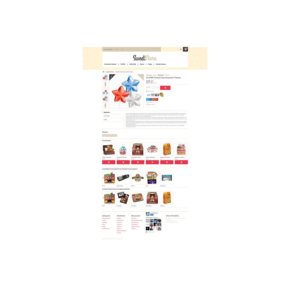 theme - Alimentation & Restauration - Sweetie - 6