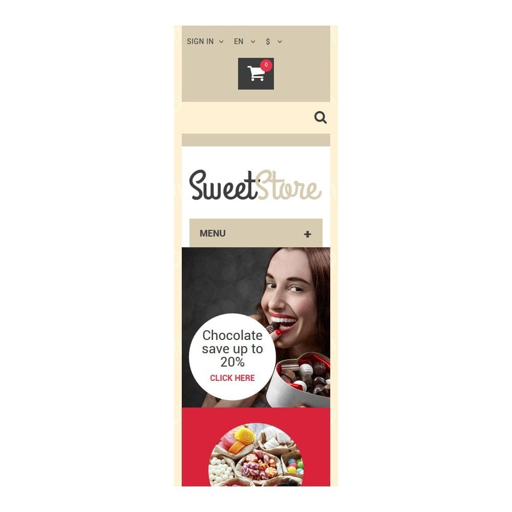 theme - Alimentation & Restauration - Sweetie - 9