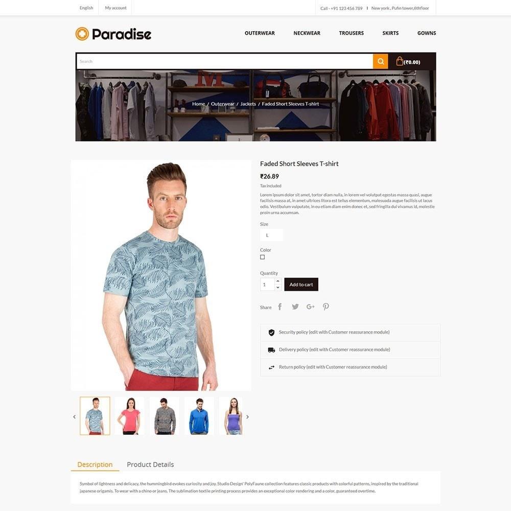 theme - Moda & Obuwie - Paradise - Fashion Store - 5