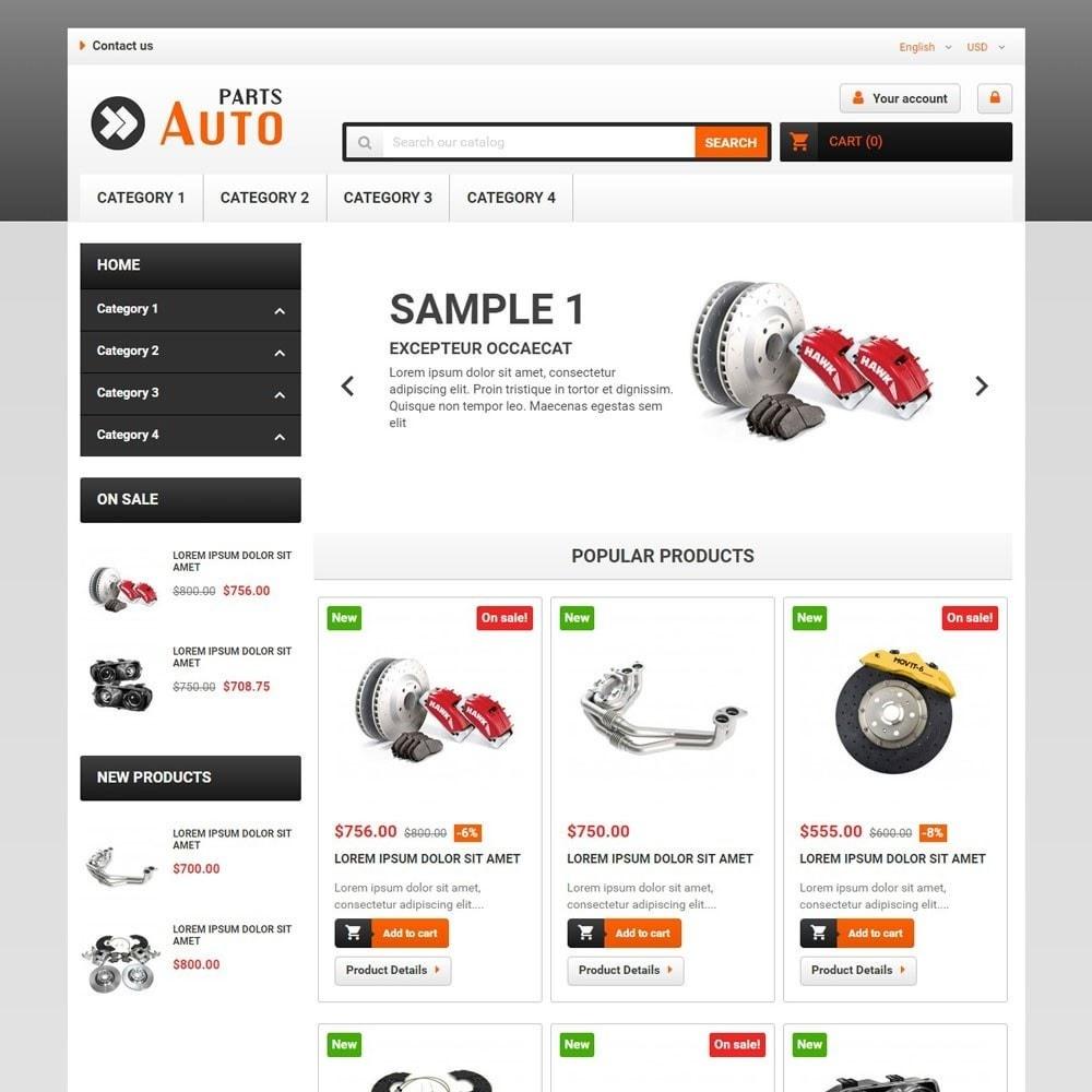 theme - Auto & Moto - AutoParts - 1