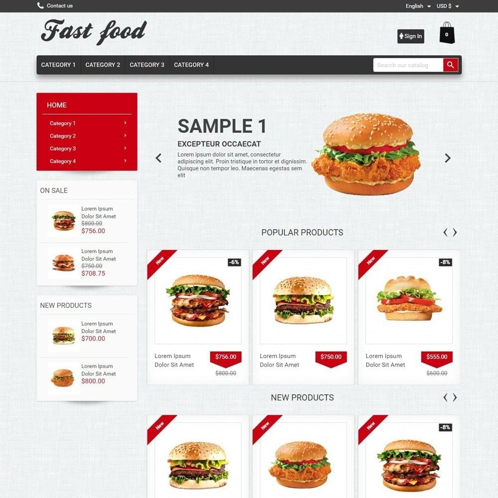 theme - Food & Restaurant - FastFood - 1