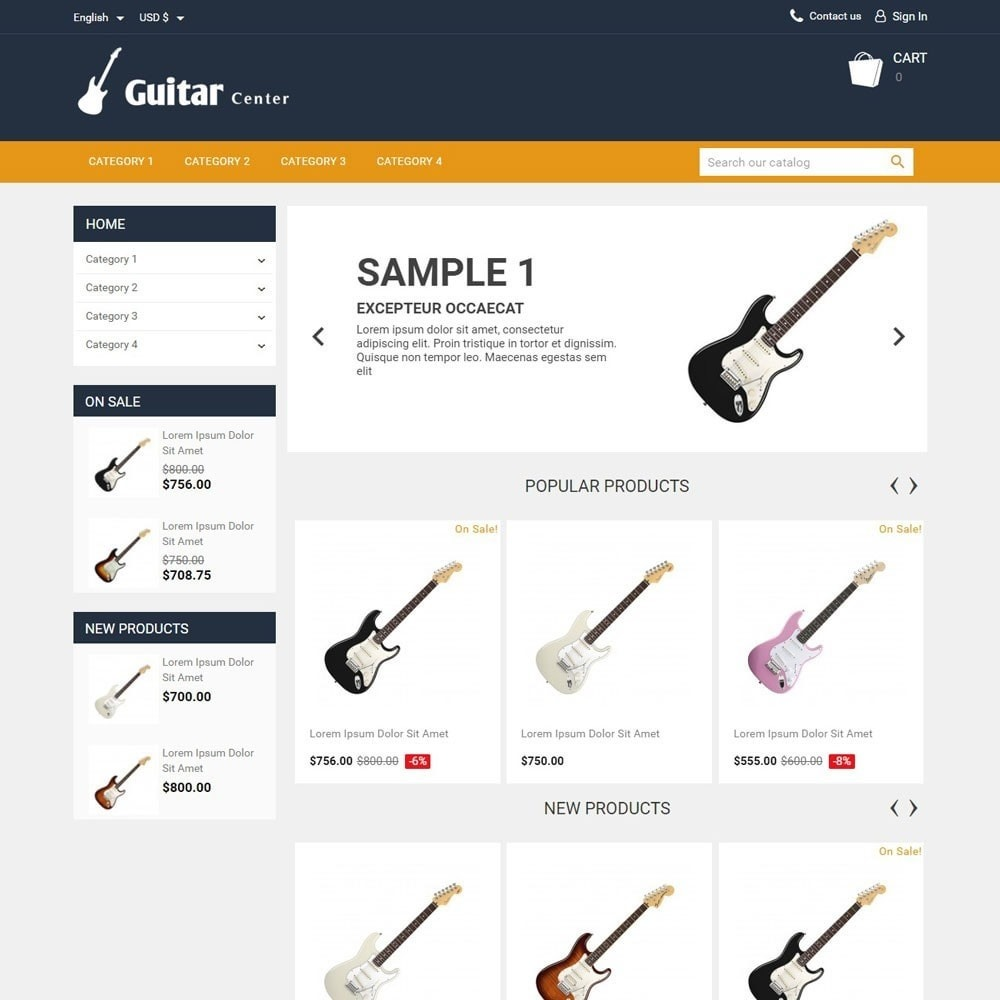 theme - Arte e Cultura - GuitarCenter - 1