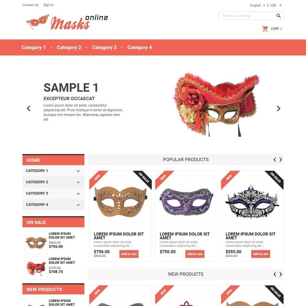 theme - Regali, Fiori & Feste - MasksOnline - 1
