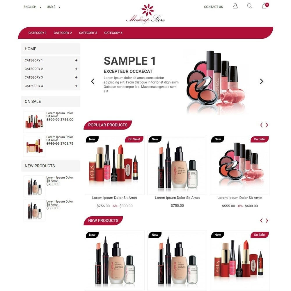 theme - Mode & Chaussures - MakeupStore - 1