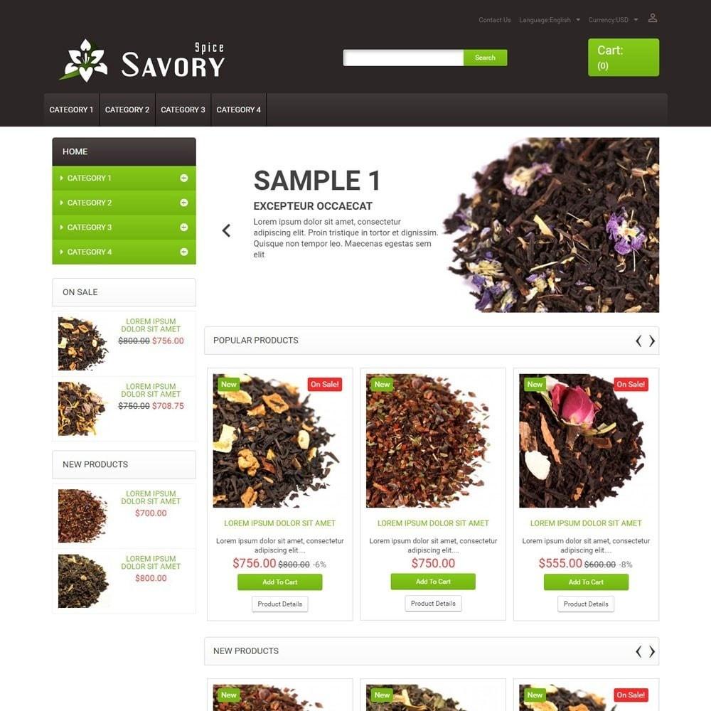theme - Alimentation & Restauration - SavorySpice - 1