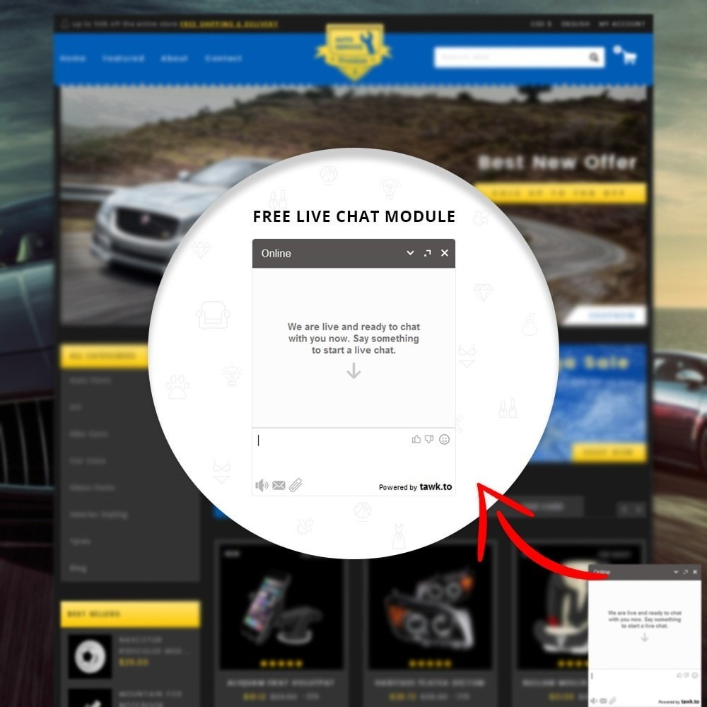 theme - Automotive & Cars - Auto Service - Premium Store - 8