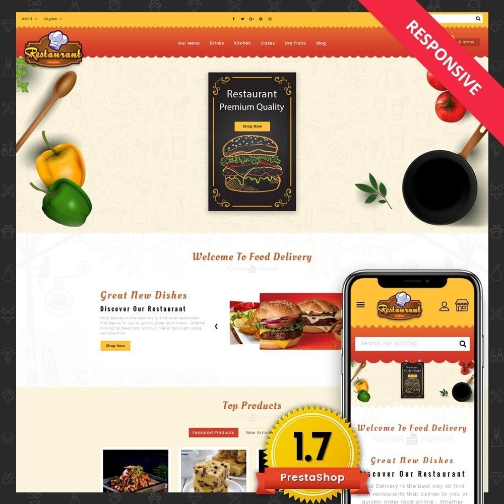 theme - Alimentos & Restaurantes - Restaurant Food Store - 1