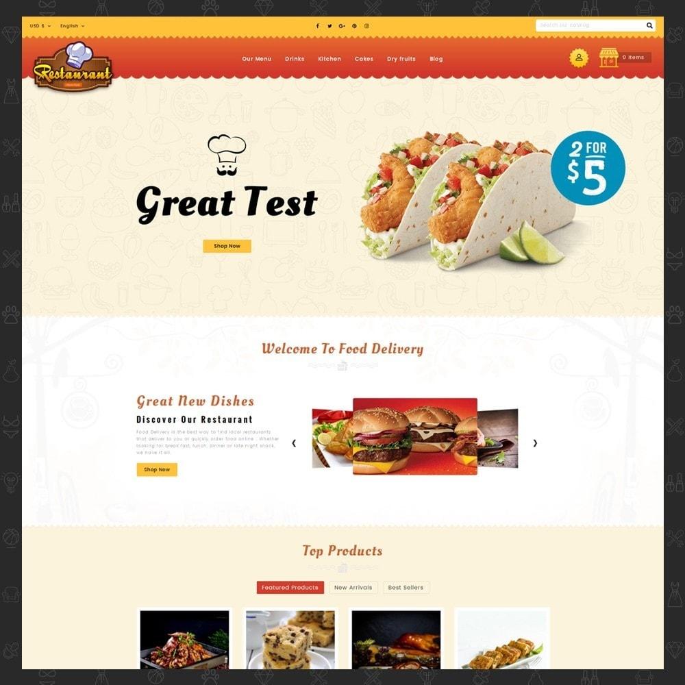 theme - Alimentos & Restaurantes - Restaurant Food Store - 2