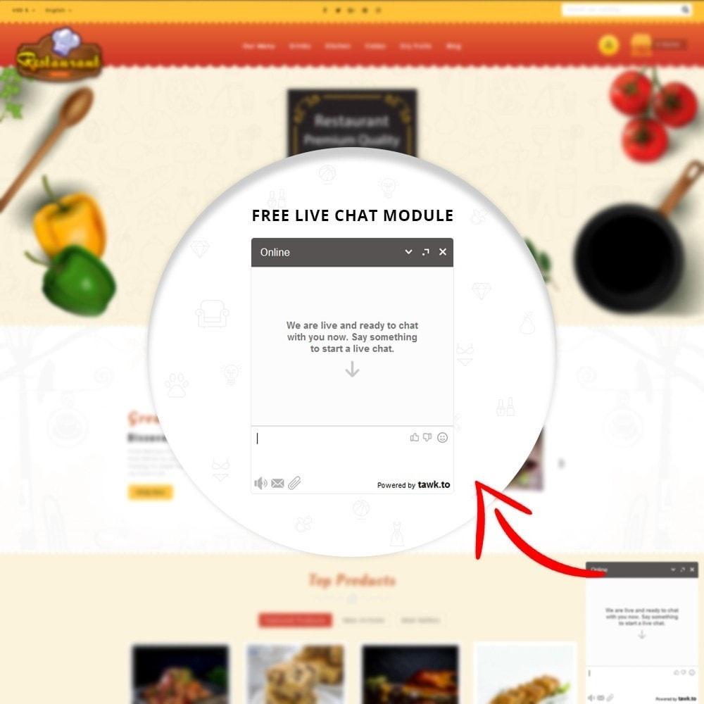 theme - Alimentos & Restaurantes - Restaurant Food Store - 7