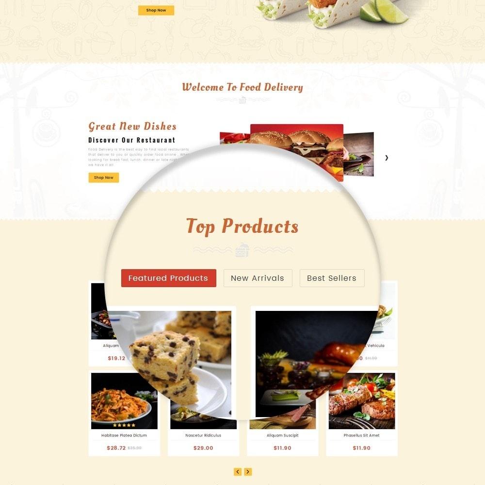 theme - Alimentos & Restaurantes - Restaurant Food Store - 8