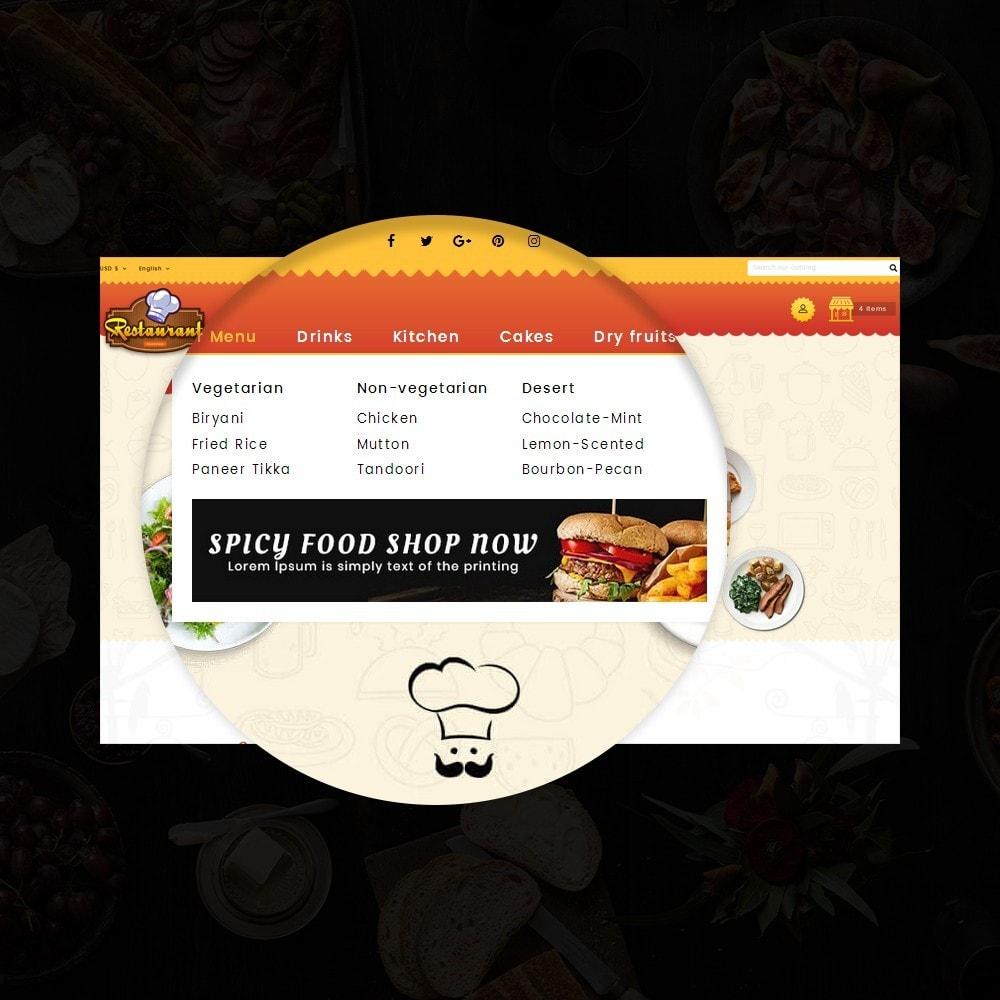 theme - Alimentos & Restaurantes - Restaurant Food Store - 10