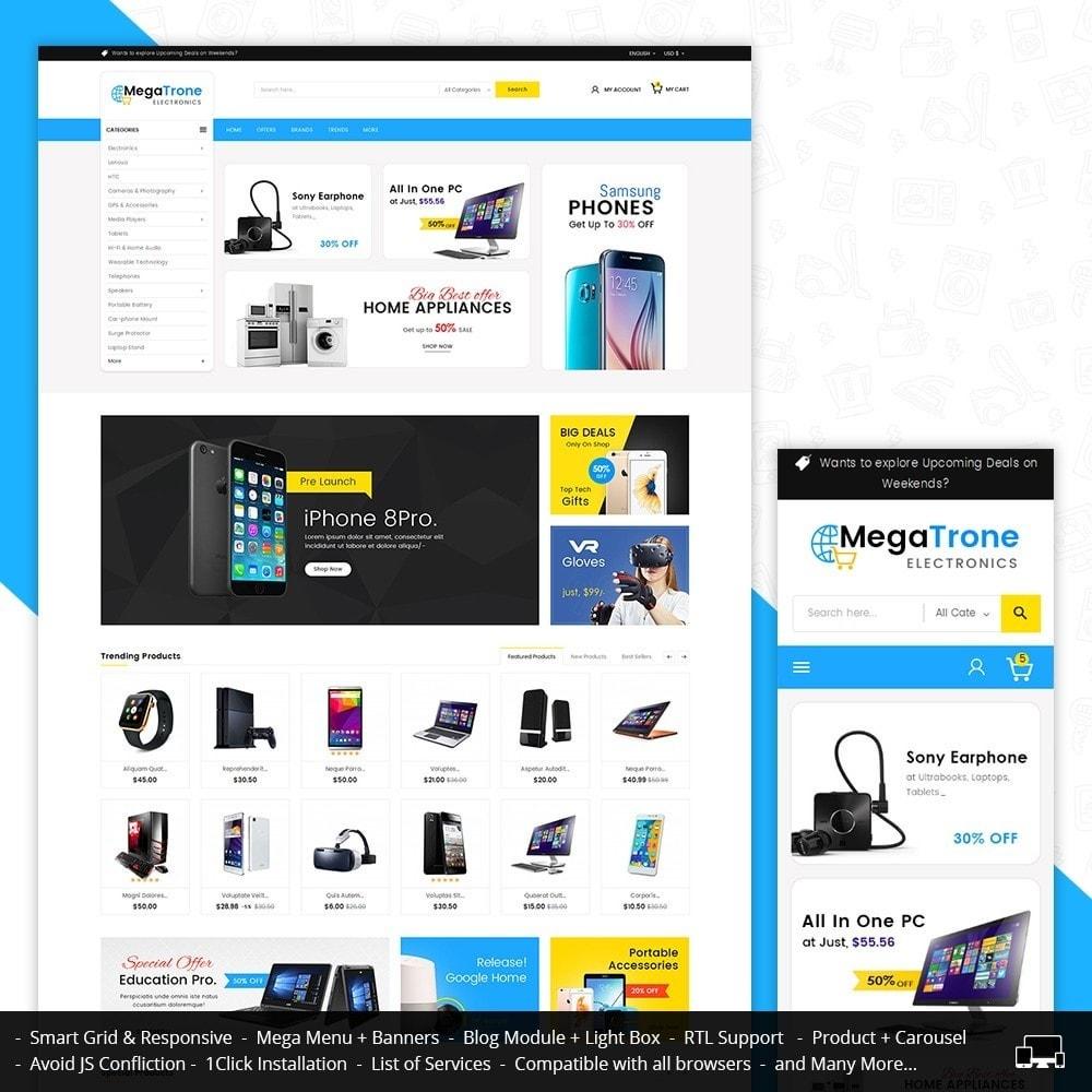 theme - Electrónica e High Tech - Mega Trone Electronics - 2