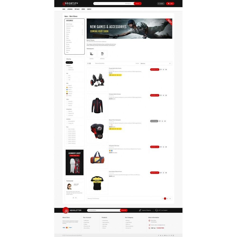 theme - Deportes, Actividades y Viajes - Mega Shoppe Sports - 5