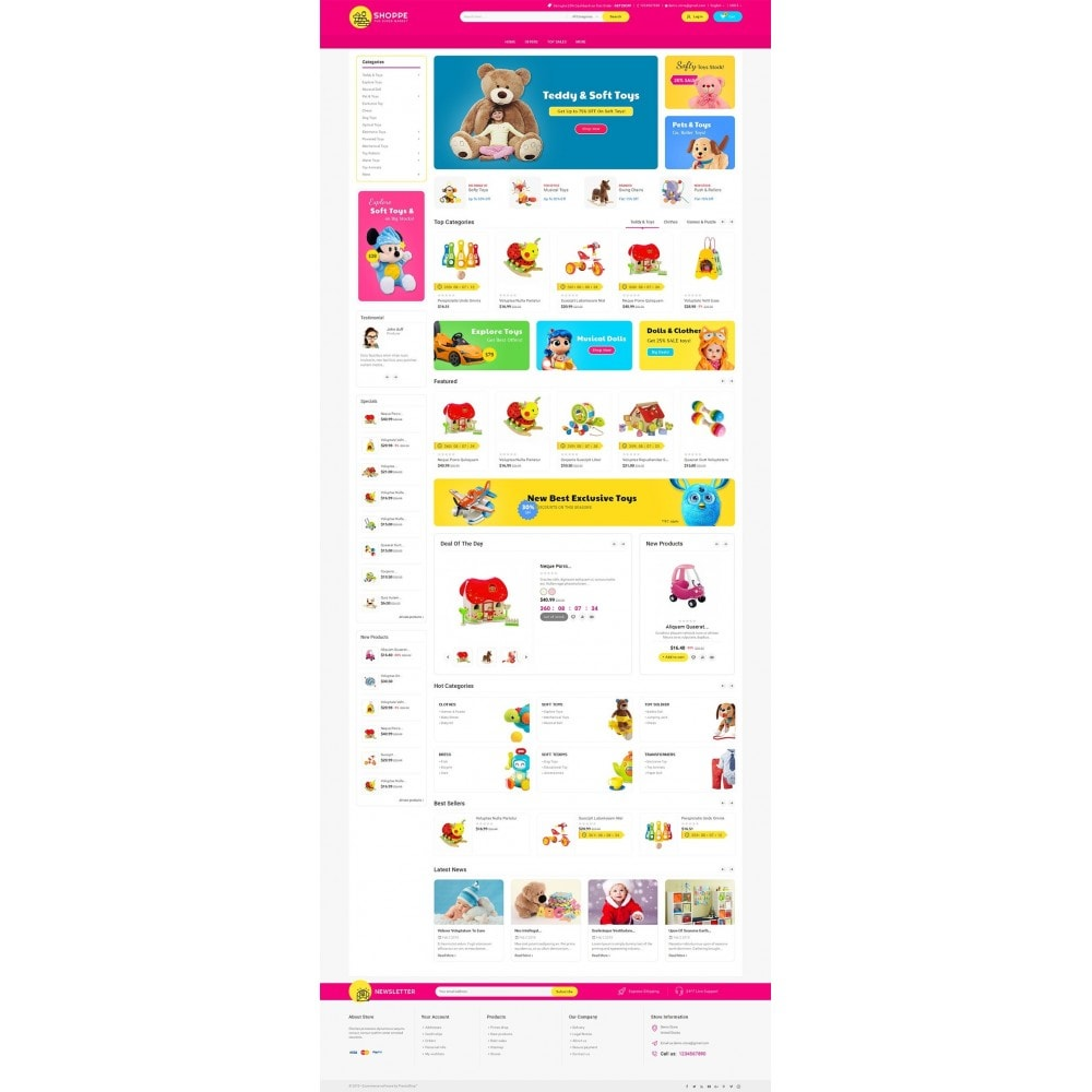 theme - Enfants & Jouets - Mega Shoppe Kid Toys - 3