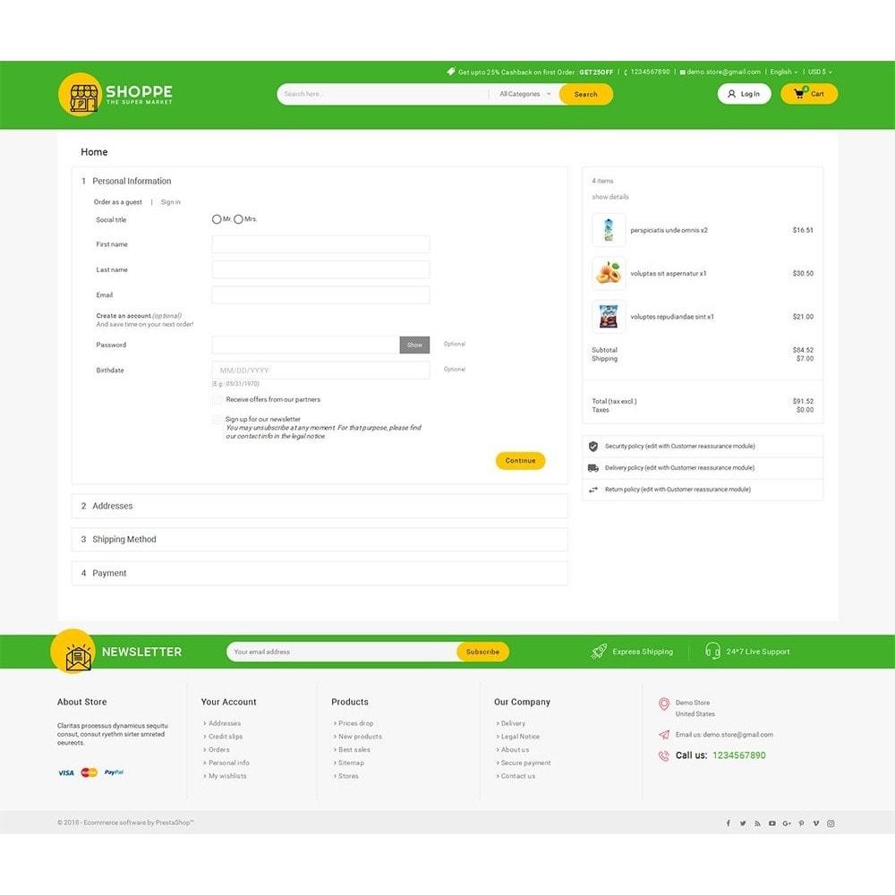 theme - Cibo & Ristorazione - Mega Shoppe Grocery - 8