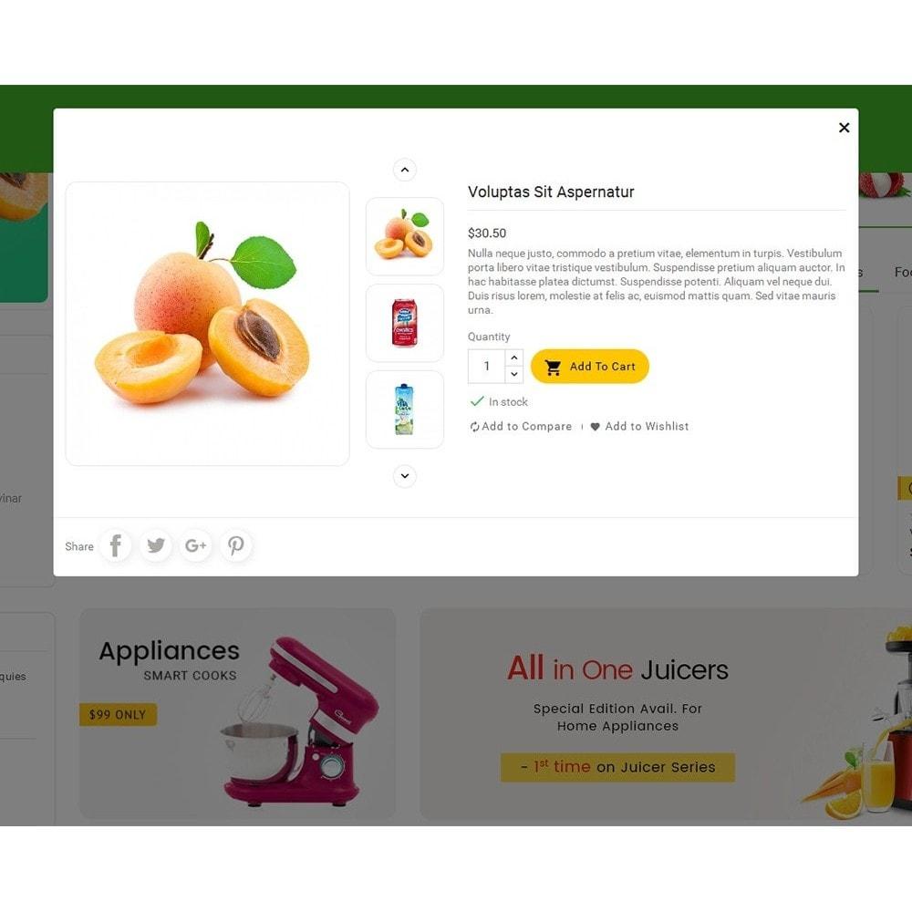 theme - Alimentation & Restauration - Mega Shoppe Grocery - 9