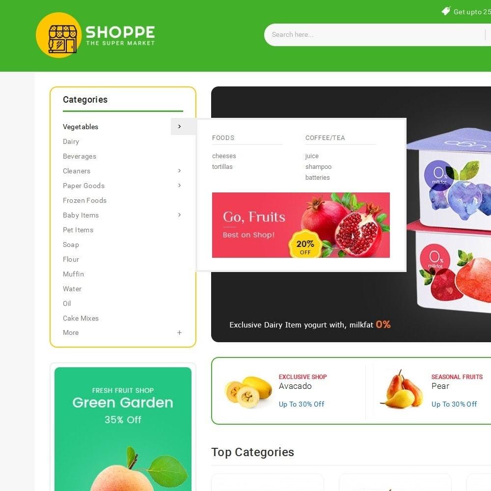 theme - Alimentation & Restauration - Mega Shoppe Grocery - 10