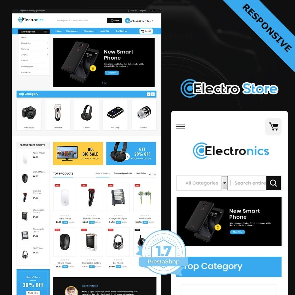 theme - Electronique & High Tech - electronic store - 1