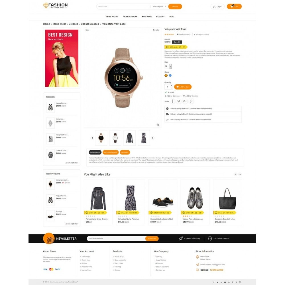theme - Moda y Calzado - Mega Shoppe Fashion - 6