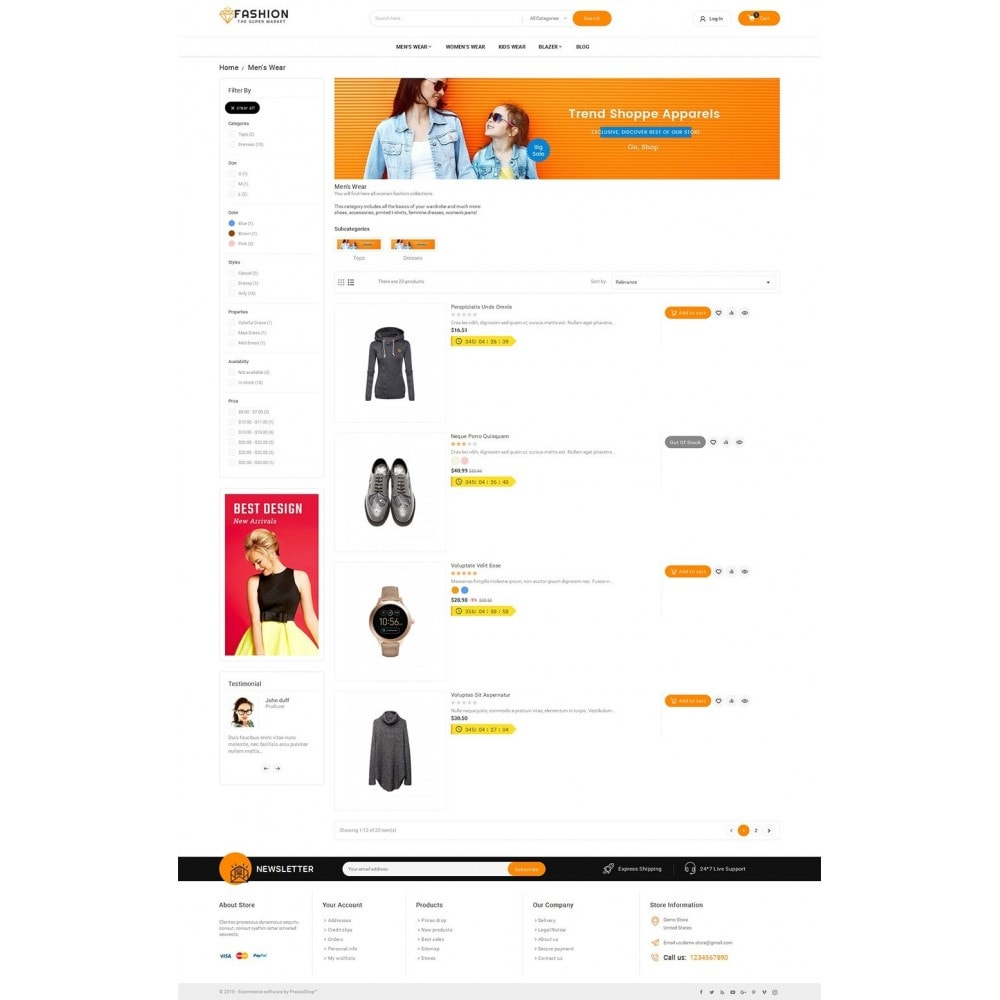 theme - Moda & Calzature - Mega Shoppe Fashion - 5